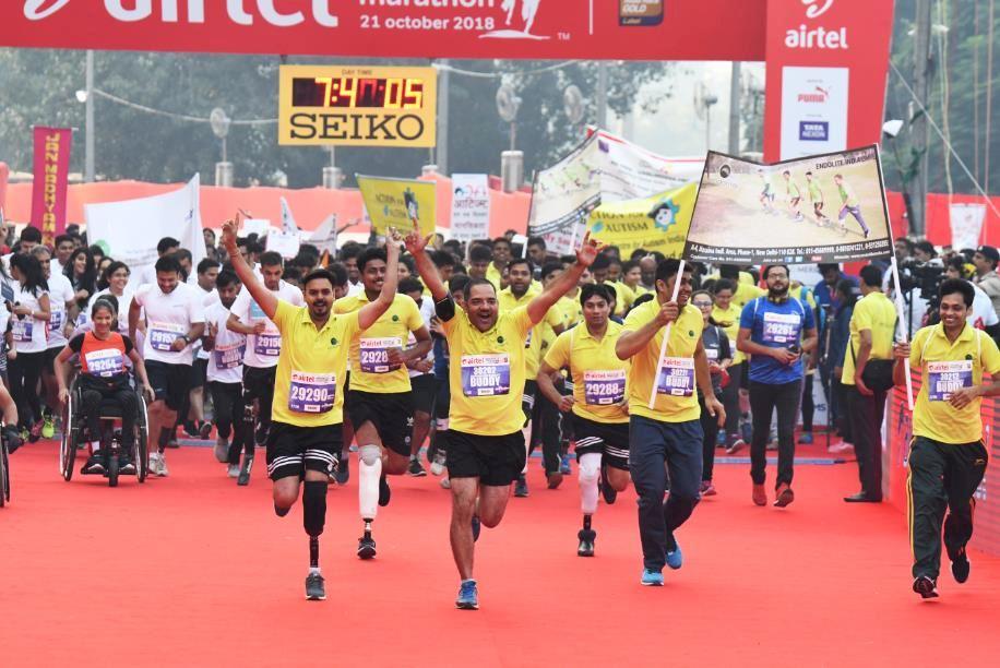 Experience vibrating India and the running boom with Airtel Delhi Half Marathon