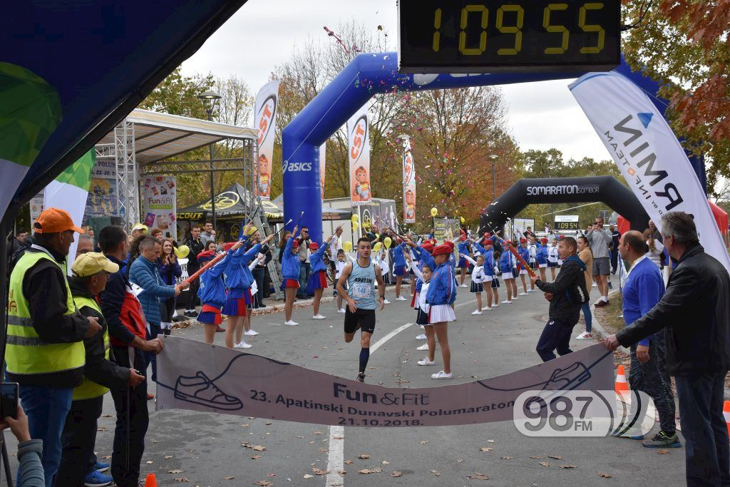 ASICS - The Apatin Danube Half Marathon - a friendly and dynamic race event in Serbia