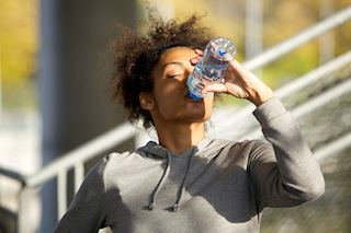 Female marathon runners' nutrition