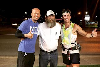 Fighting cancer with 40 marathons in 2016