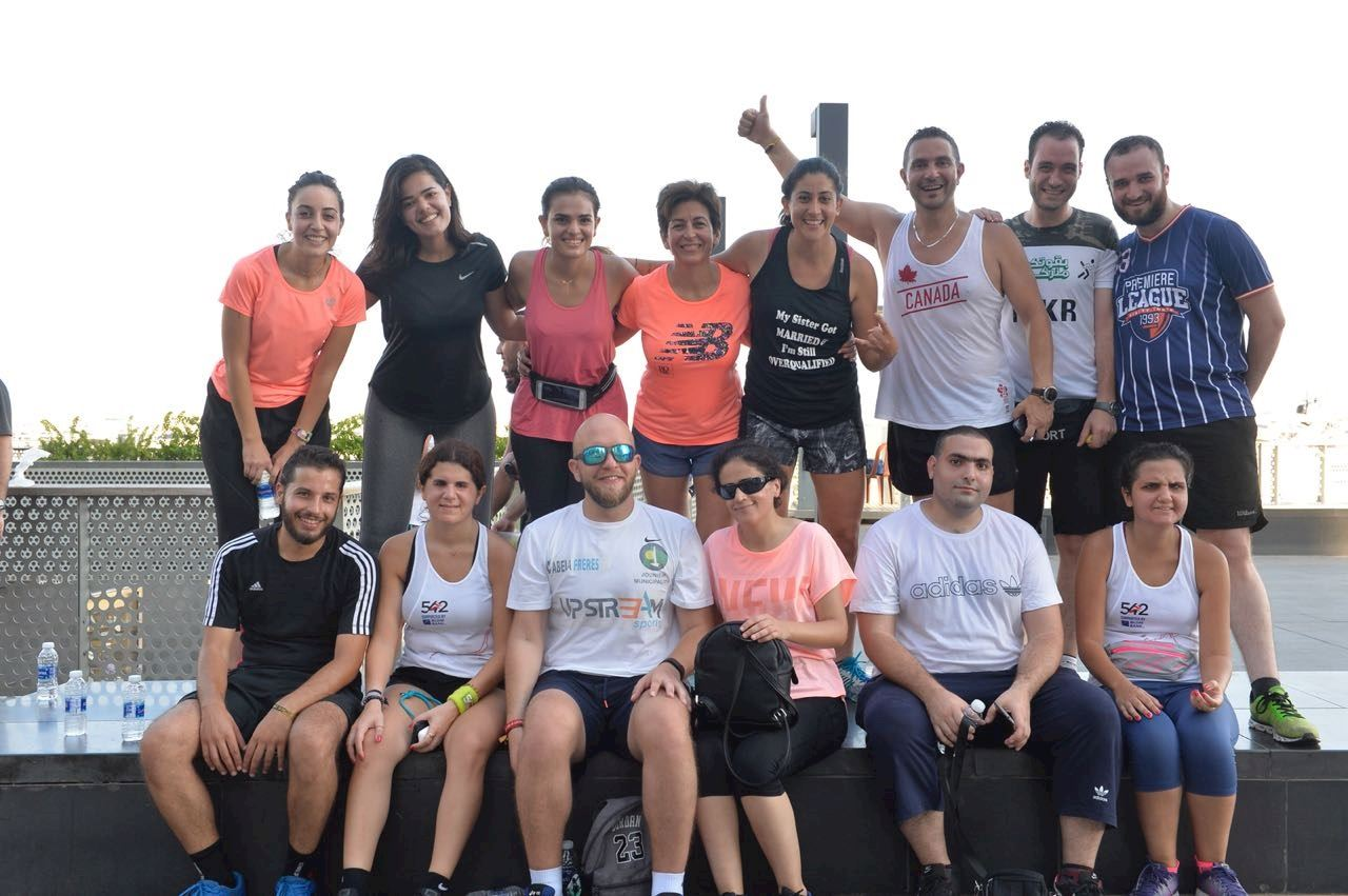 For blind runners in Beirut, a vision of glory awaits