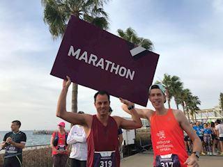 Limassol Marathon // 2:53:20 PB // 8ste plek; 10de overall // Worlds Marathon's influencers weekend