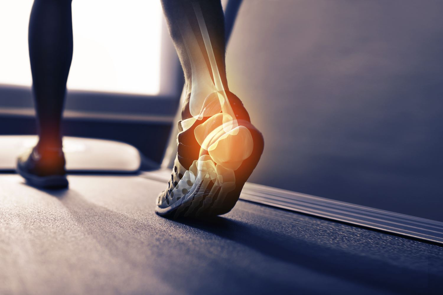 Long distance running in pain