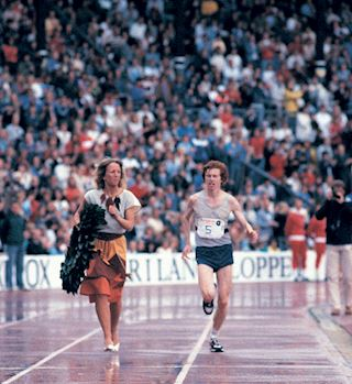 Record holder Hugh Jones on the 40th ASICS Stockholm Marathon