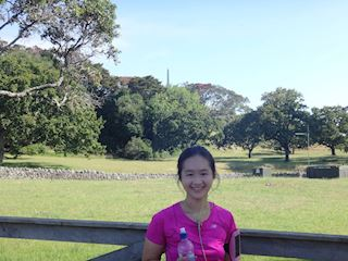 Runner in the spotlight: Pris Chew