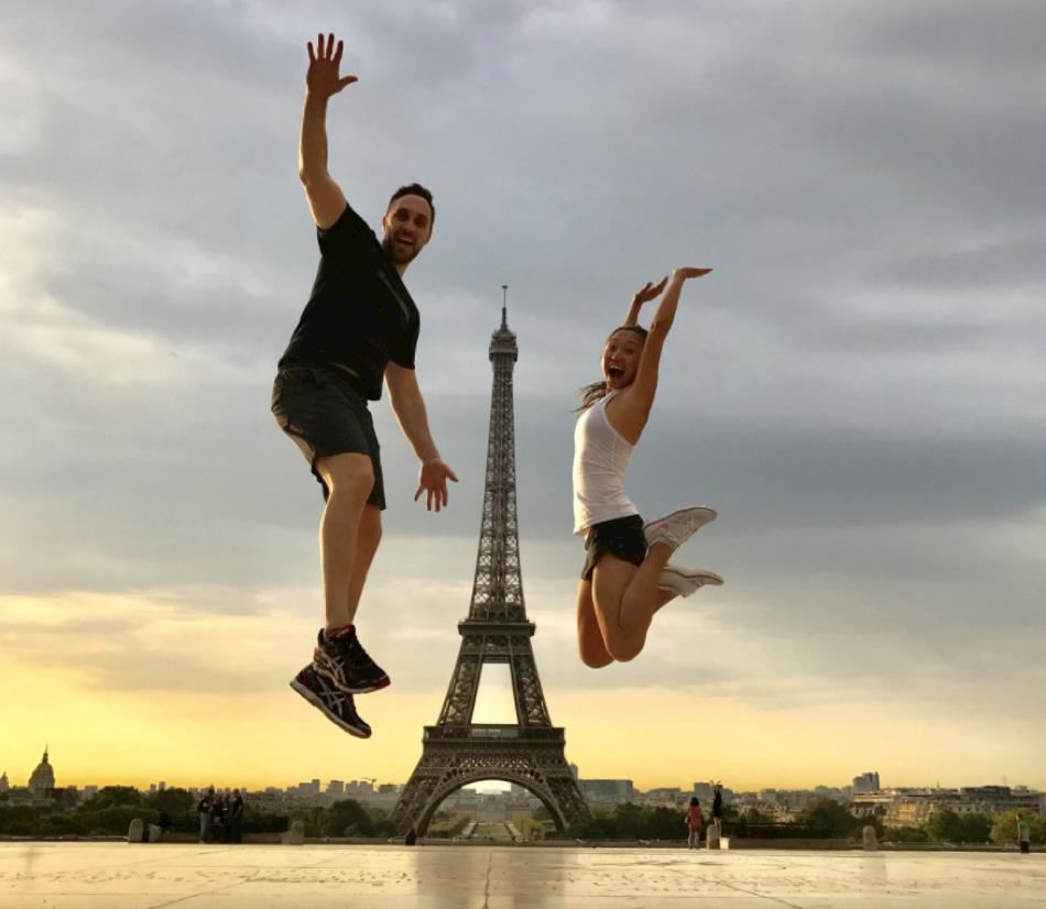 Running Tour in Paris - Discover Paris with your guide Andréa