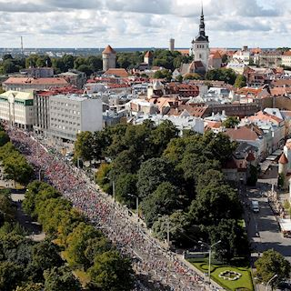 Tallinn marathon - The best way to celebrate Estonia's 100th birthday