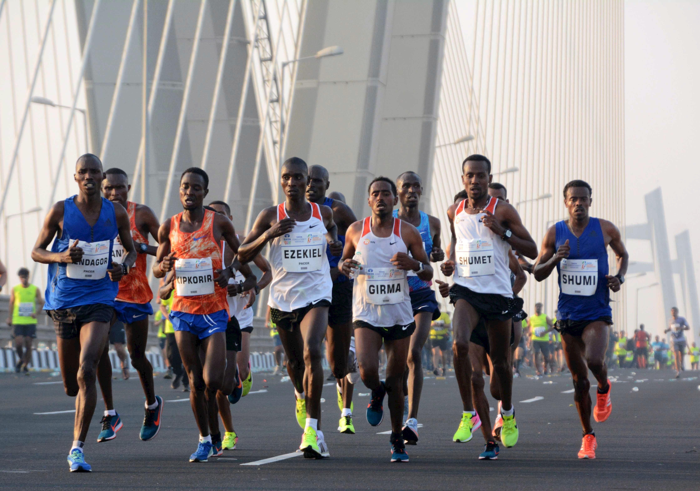 Finish one of the greatest runs in India - TATA Mumbai Marathon - and be awarded the unique inspiration medal