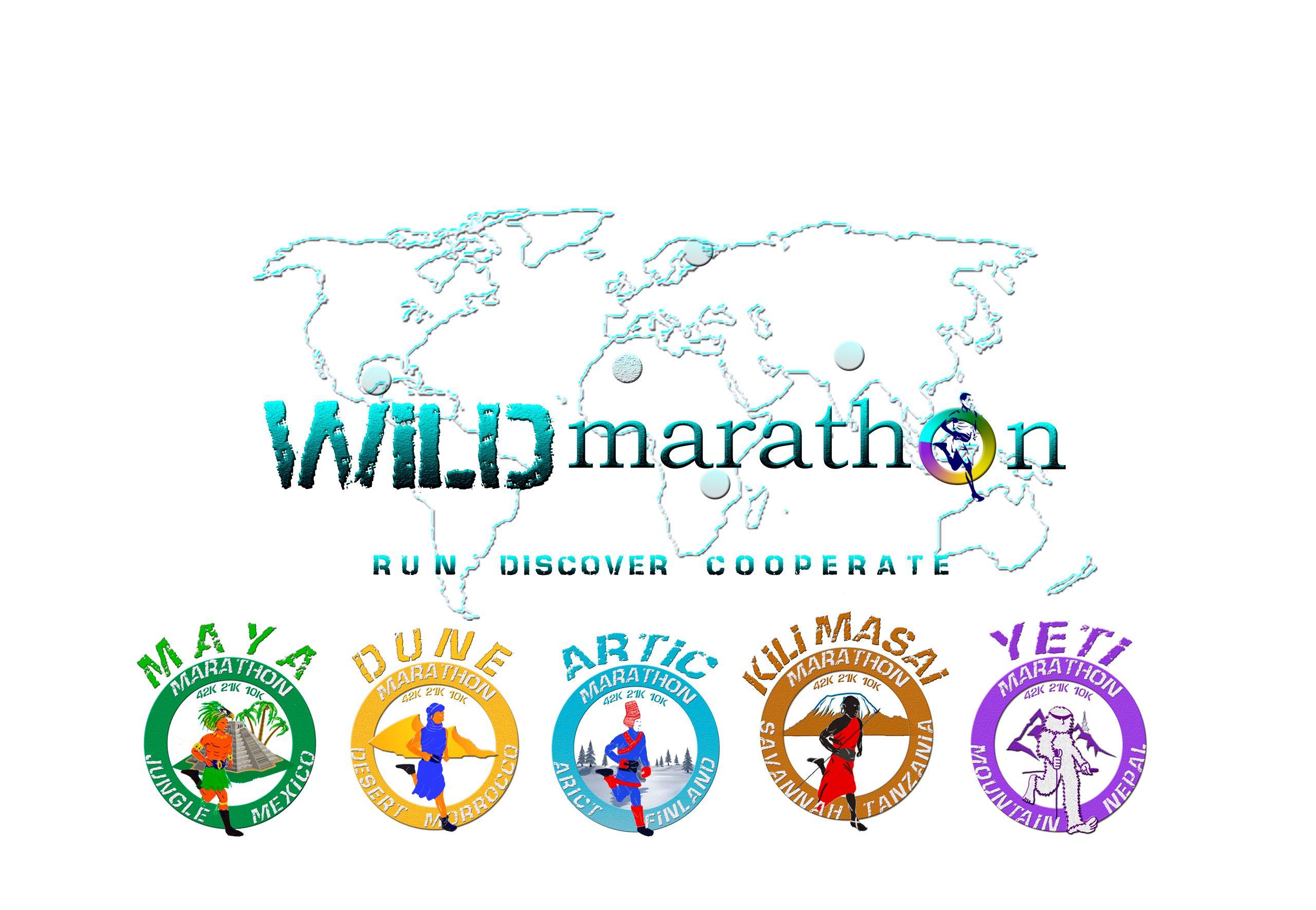 Wildmarathon Series - Run in the best locations