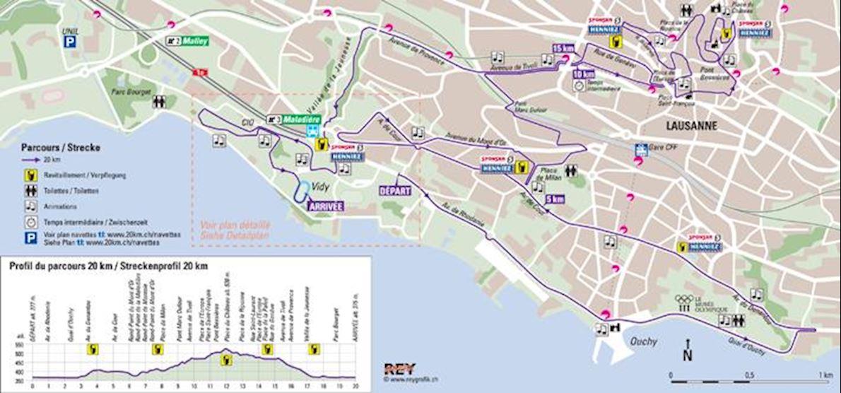 20KM de Lausanne Worlds Marathons