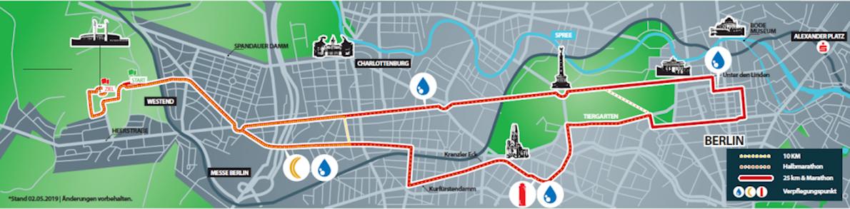 S 25 Berlin 路线图