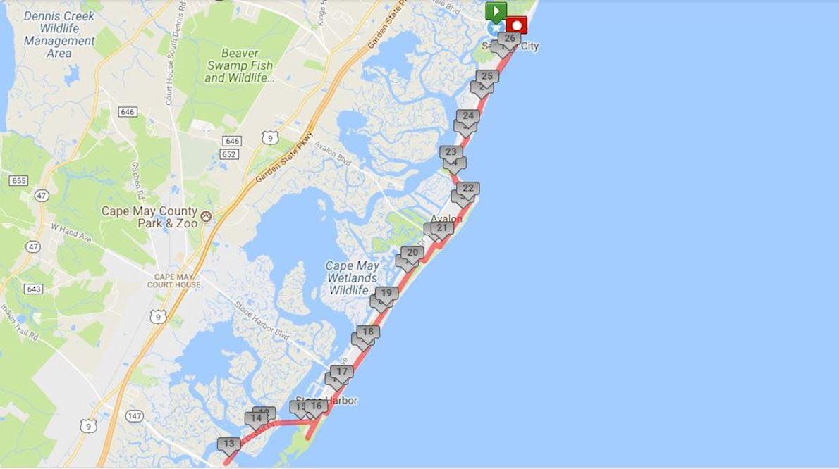 Ocean Drive Marathon Worlds Marathons