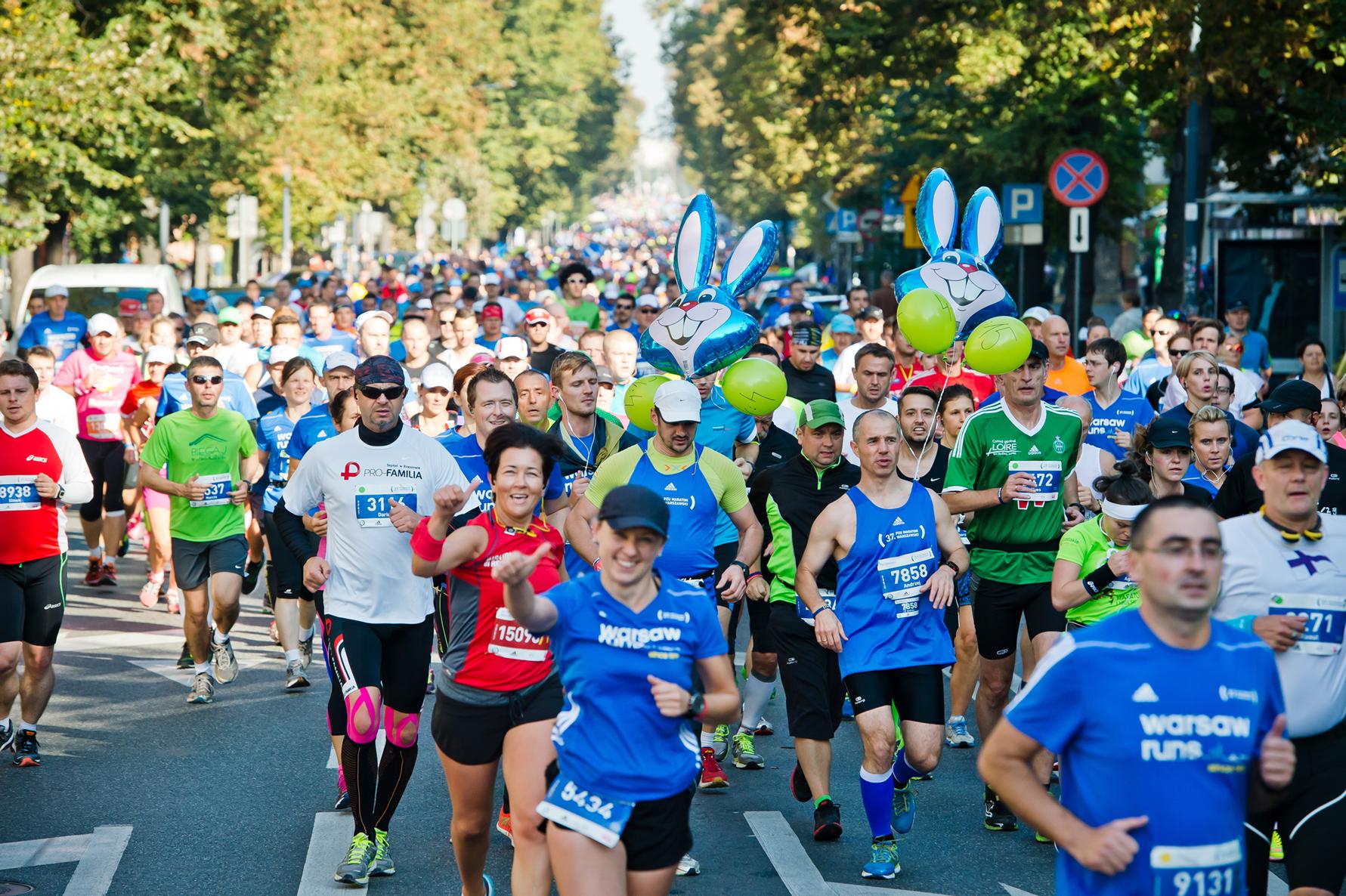 Alles over de 38th Pzu Warsaw Marathon en hoe jij er aan mee kunt doen