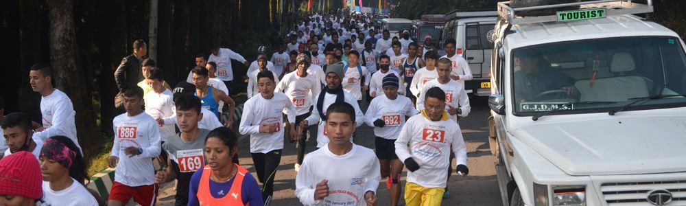 amway darjeeling police marathon