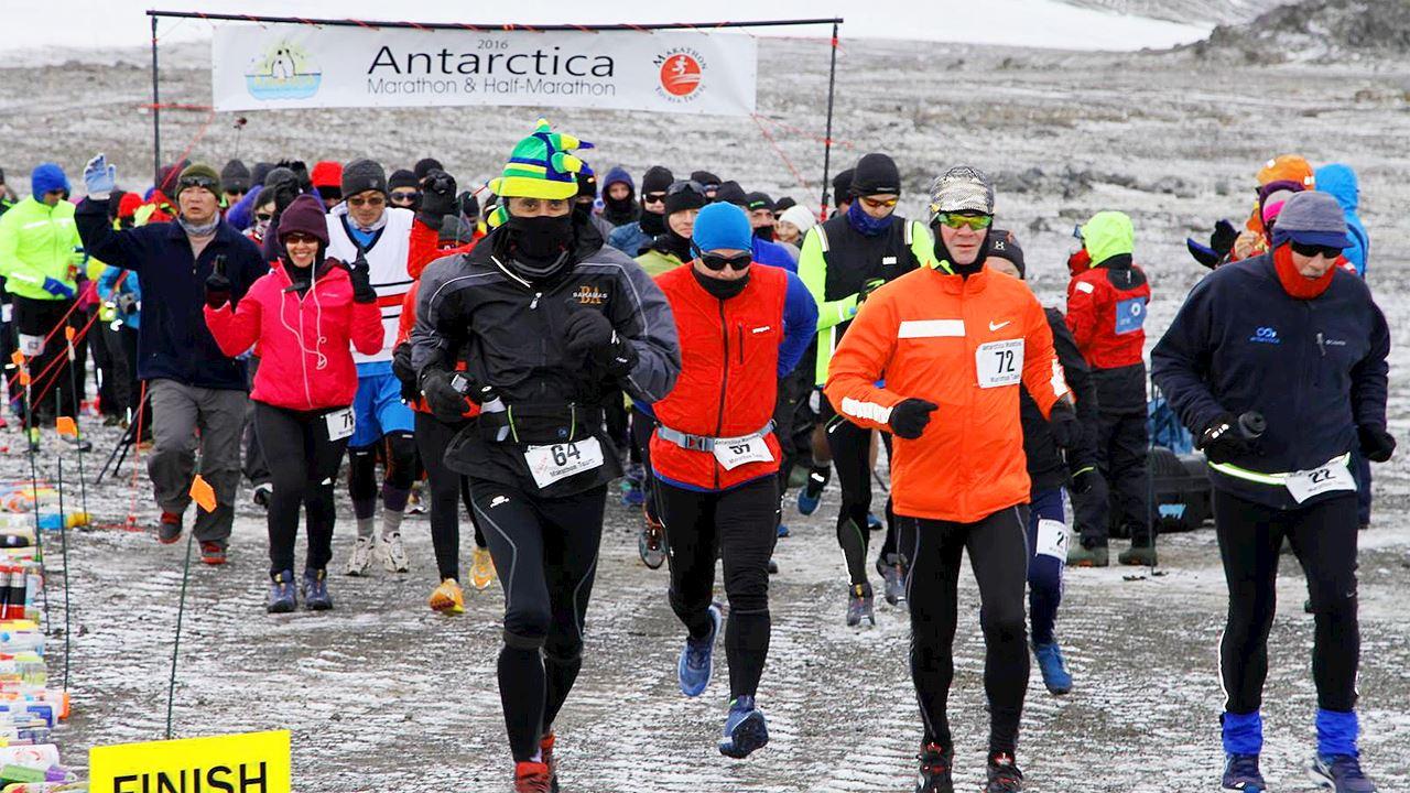 Alles over de Antarctica Marathon en hoe jij er aan mee kunt doen