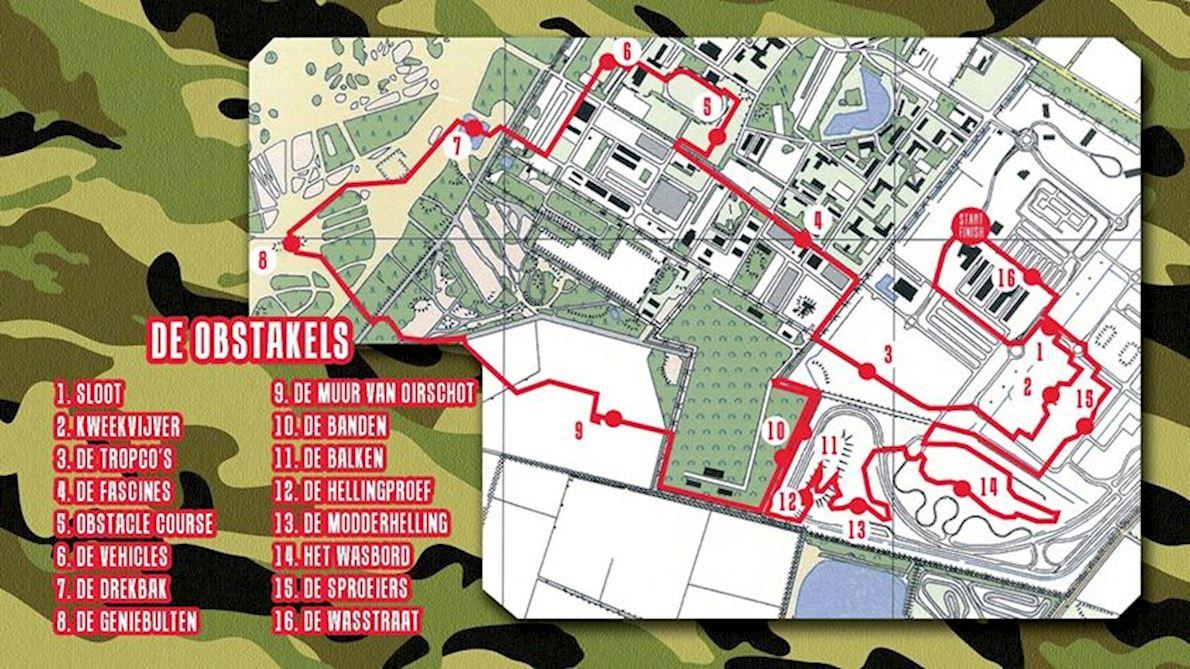 Army Urban Run 路线图