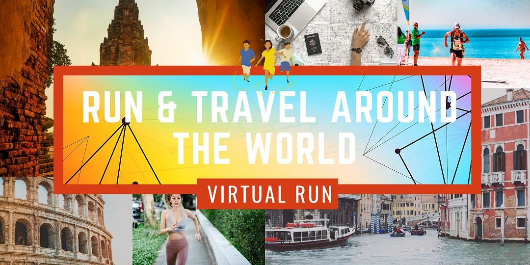 around the world virtual race