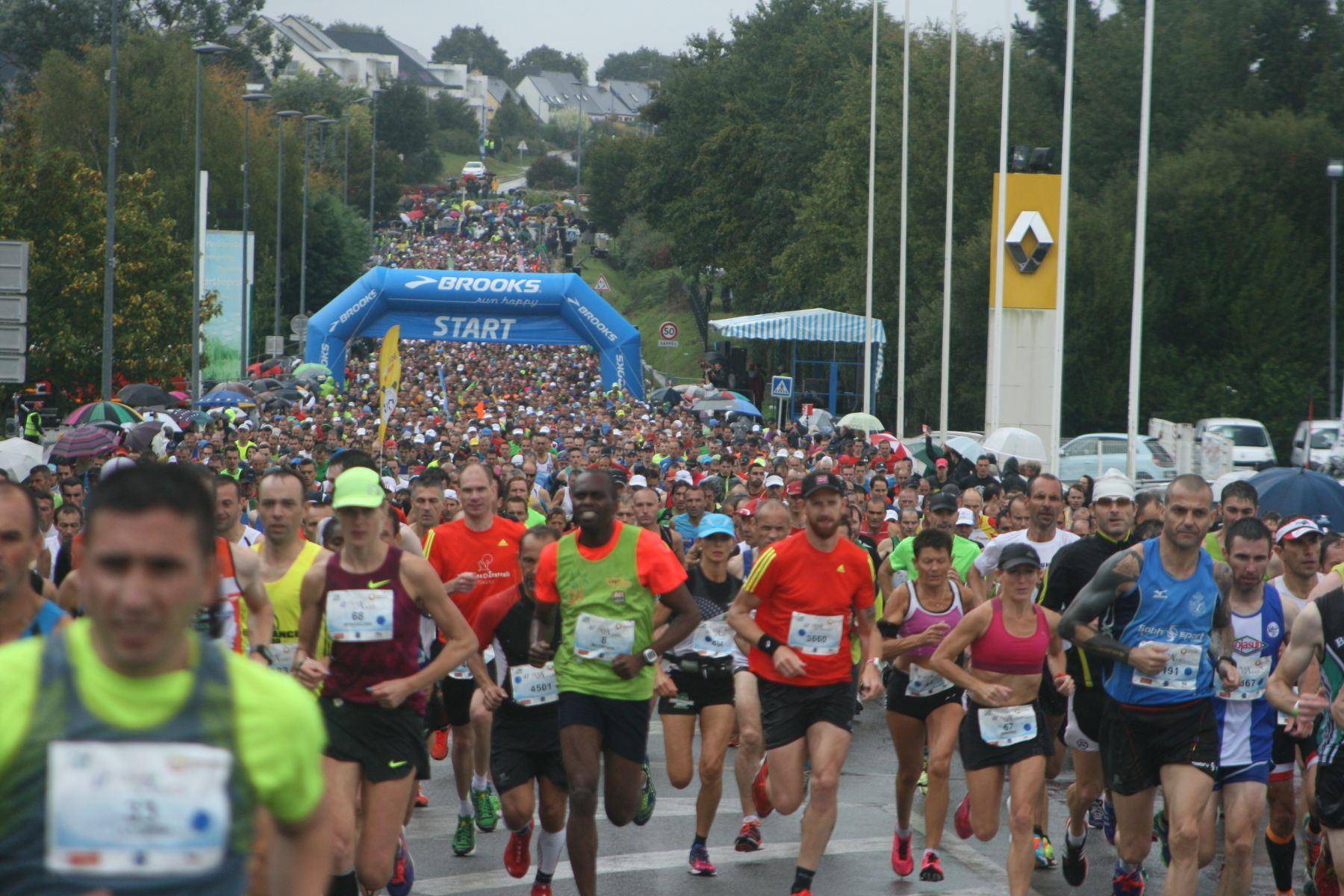 auray vannes half marathon