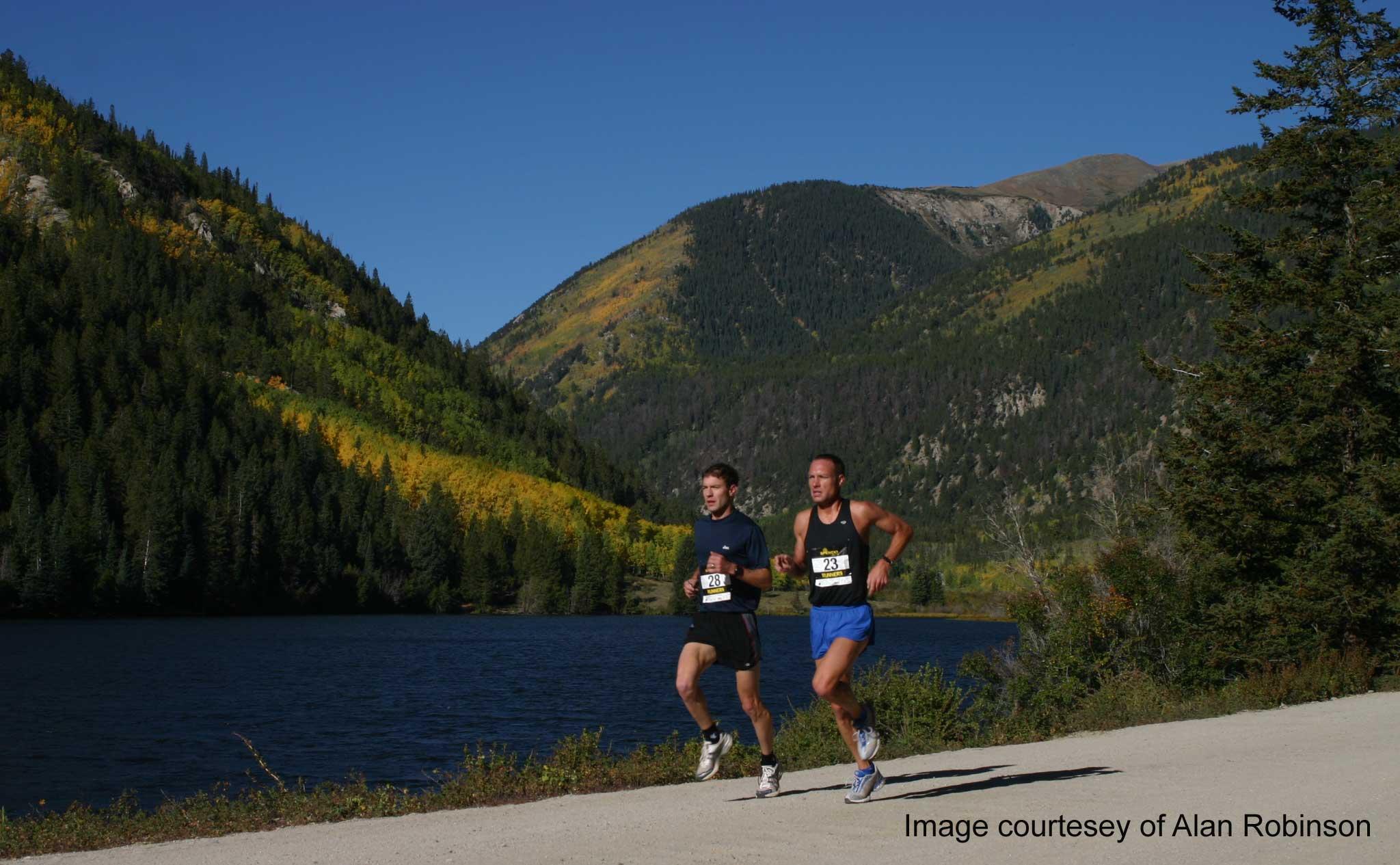 autumn color run half marathon