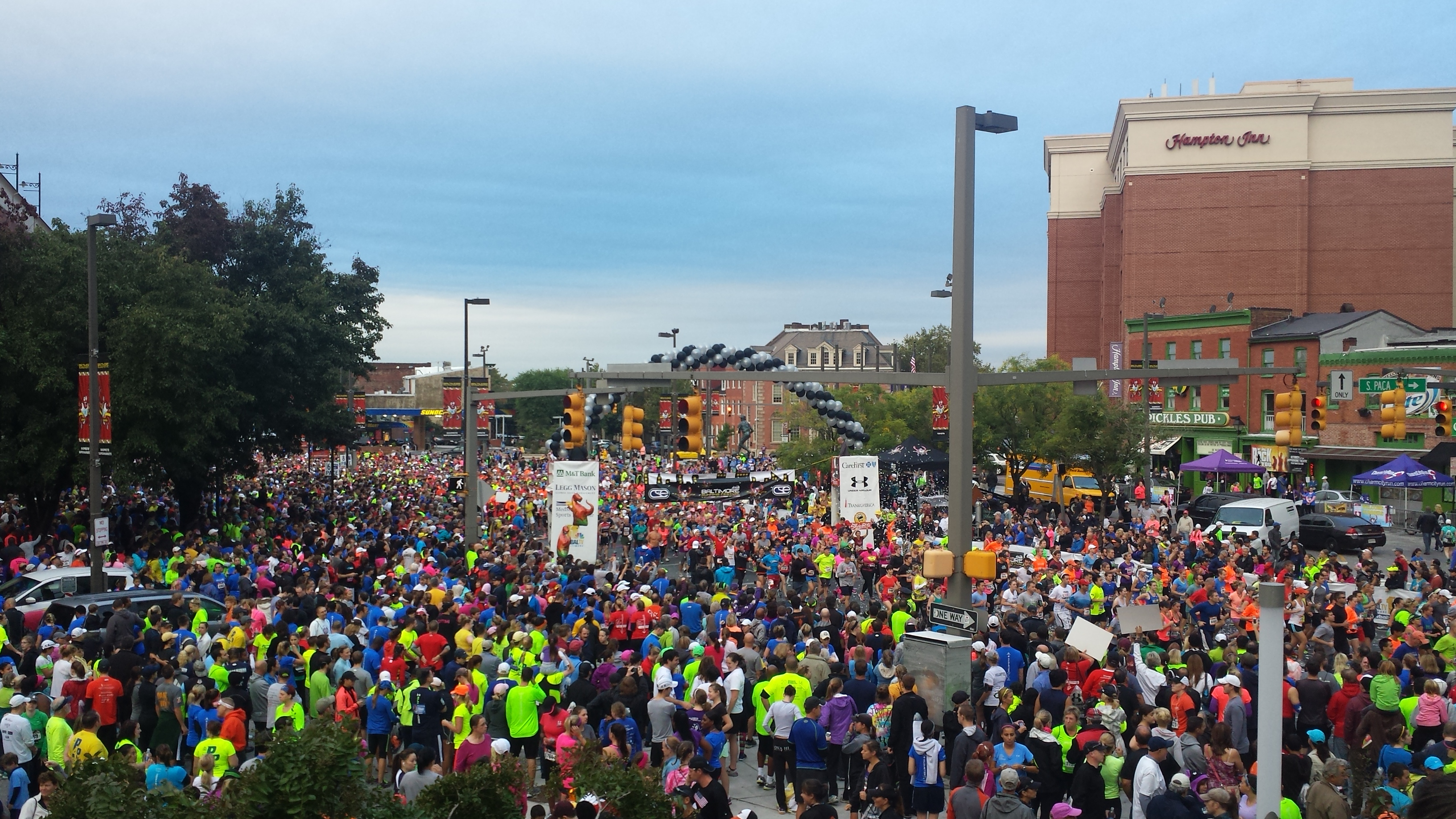 baltimore running festival