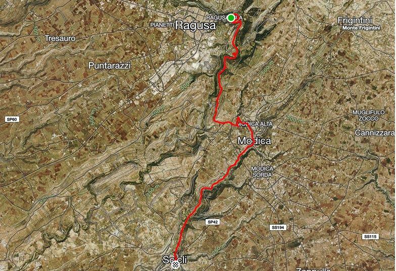 Baroque Race 05-07-2020 Route Map