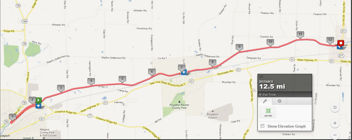 Beast of Burden 50 Miles (Summer) Route Map