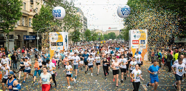 Alles over de Belgrade Marathon Beogradski Maraton en hoe jij er aan mee kunt doen