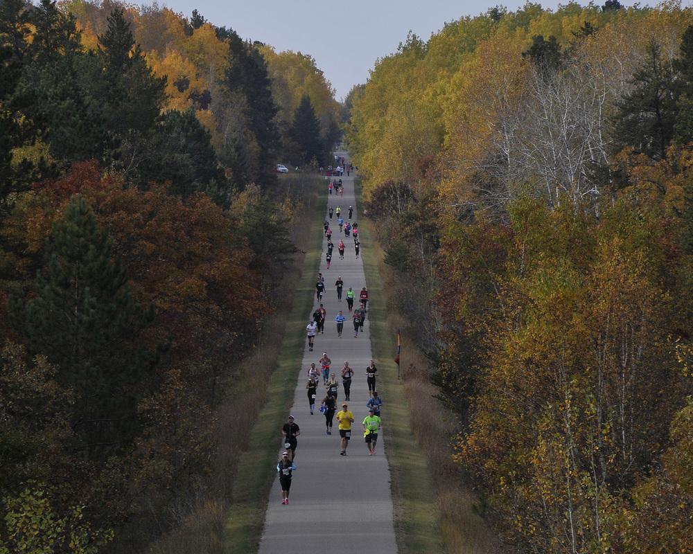 Alles over de Bemidji Blue Ox Marathon en hoe jij er aan mee kunt doen