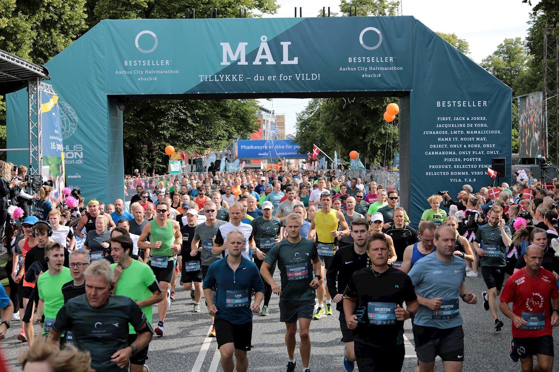 bestseller aarhus city halvmarathon