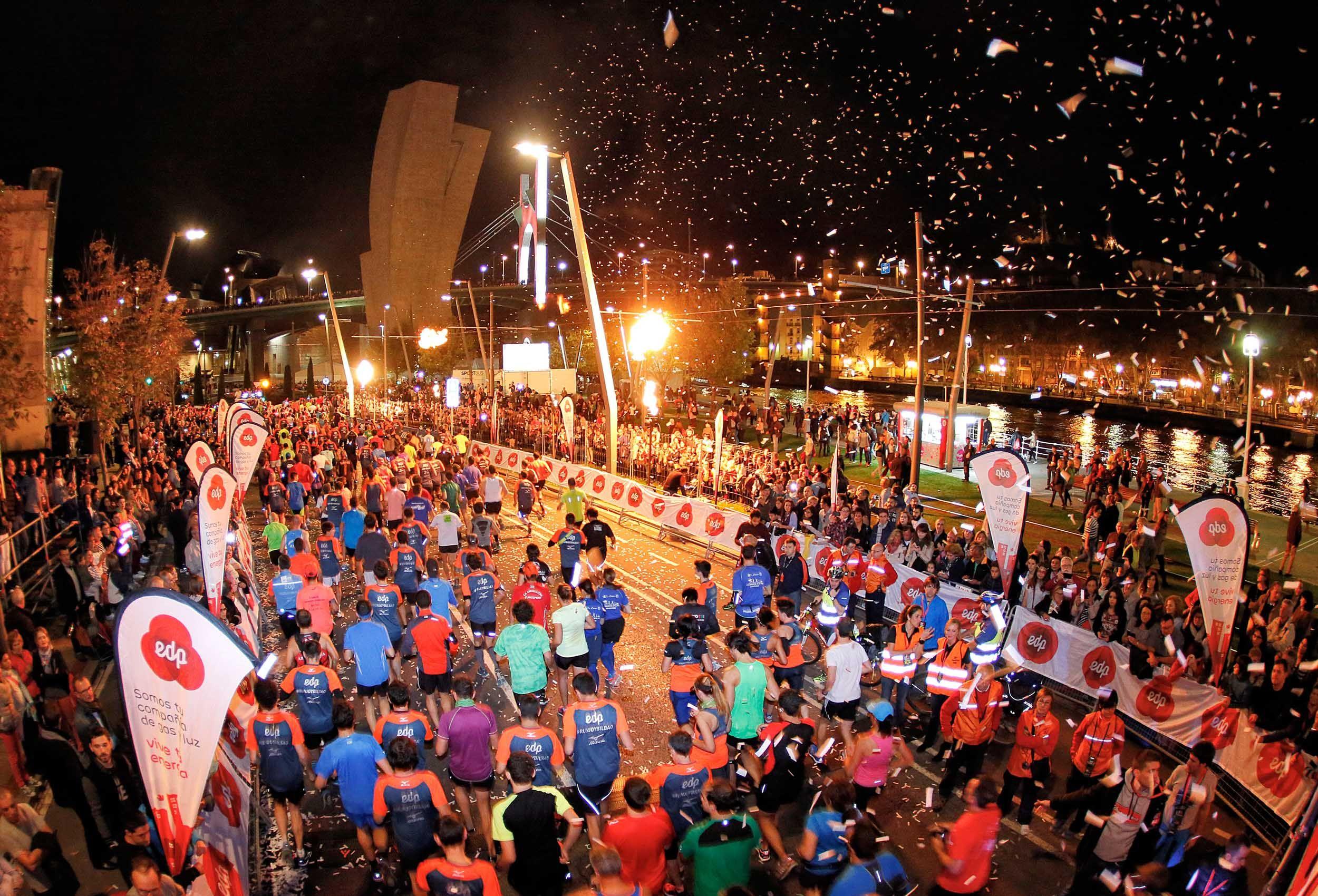 Alles over de Bilbao Night Marathon en hoe jij er aan mee kunt doen