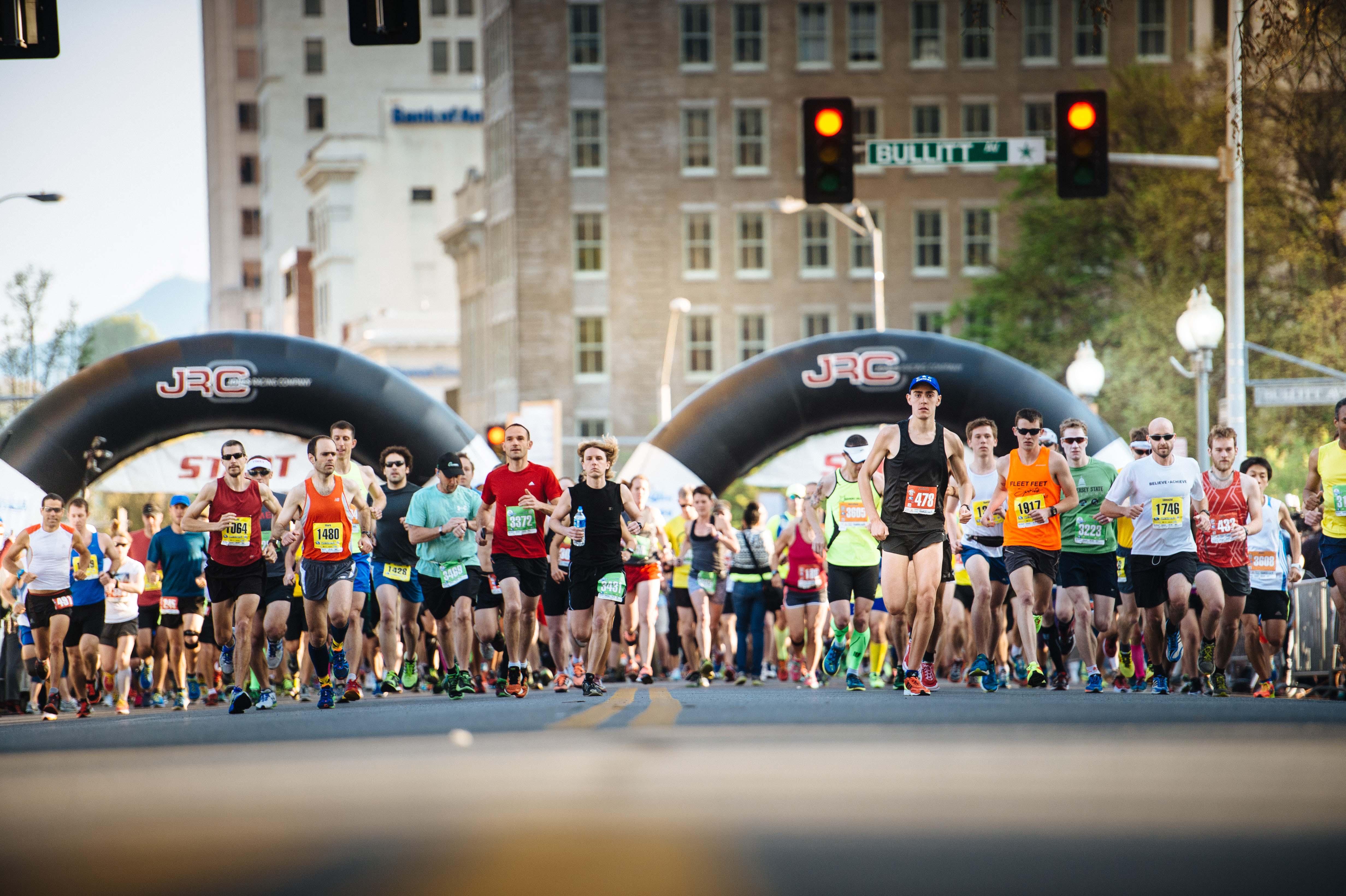 Alles over de Blue Ridge Marathon en hoe jij er aan mee kunt doen
