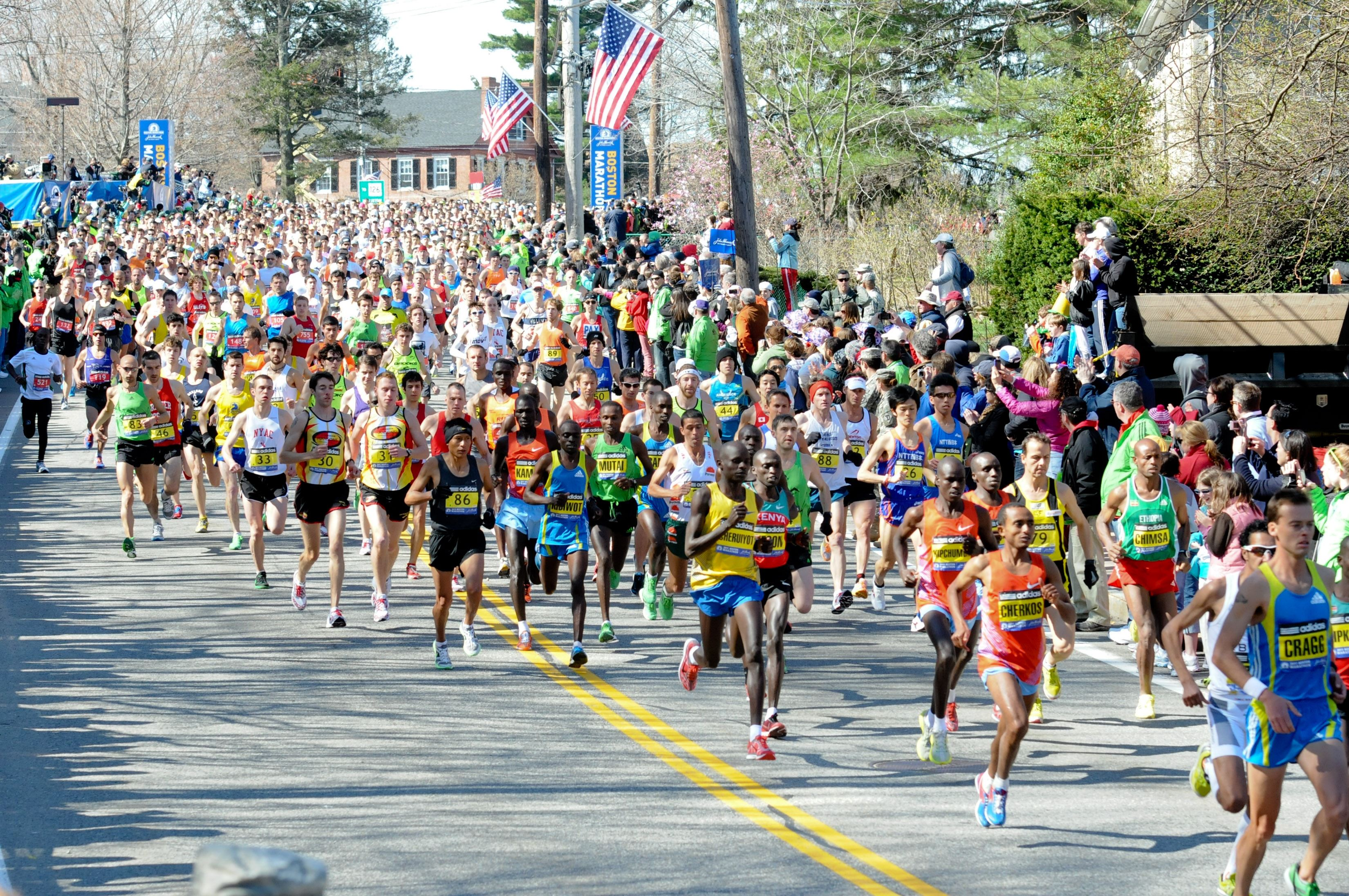Alles over de Boston Athletic Association Boston Marathon en hoe jij er aan mee kunt doen
