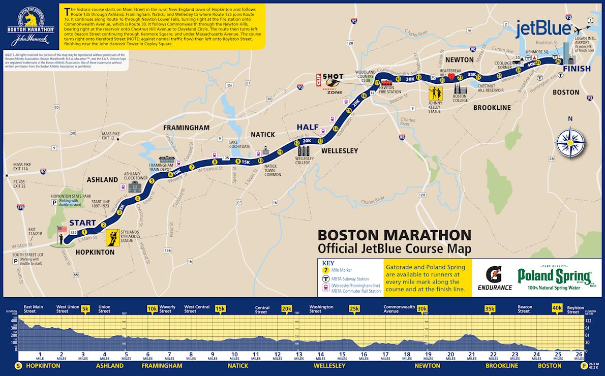 Image result for boston-marathon-map