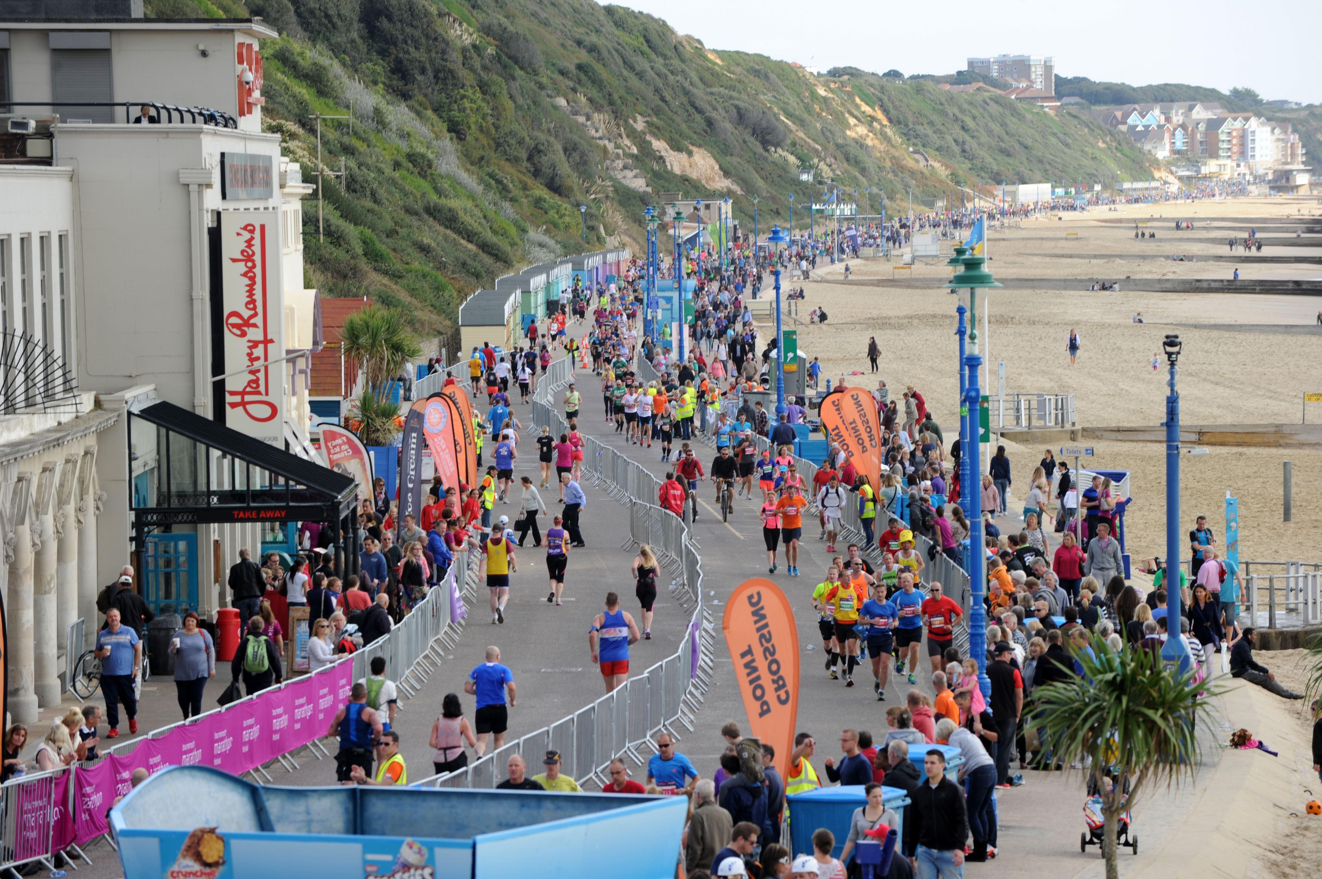 Alles over de Bournemouth Marathon Festival en hoe jij er aan mee kunt doen