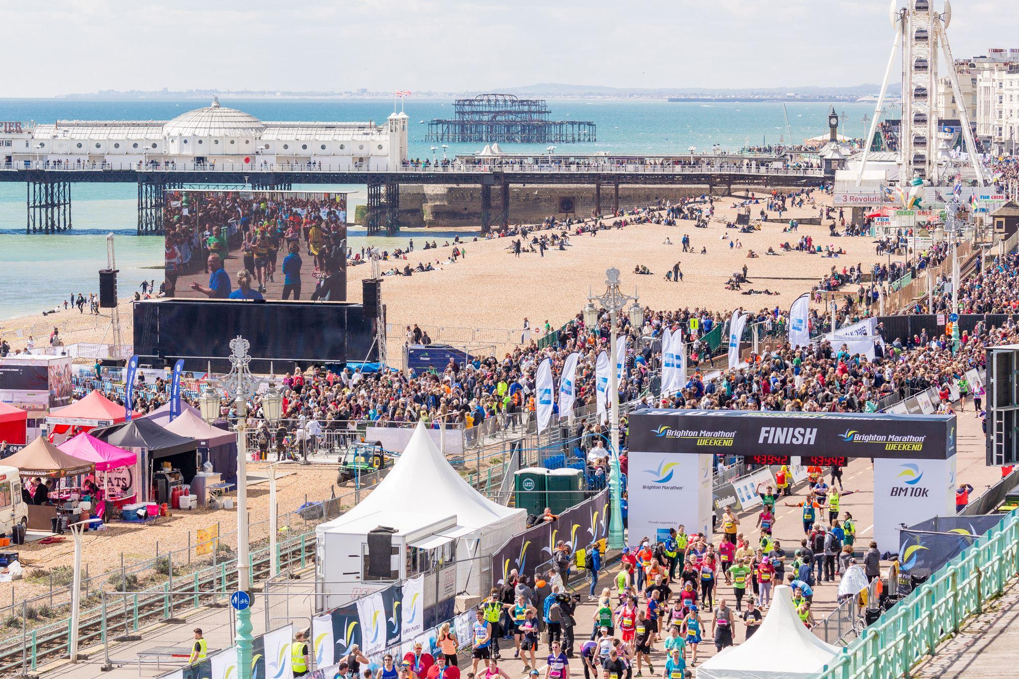 Alles over de Brighton Marathon en hoe jij er aan mee kunt doen