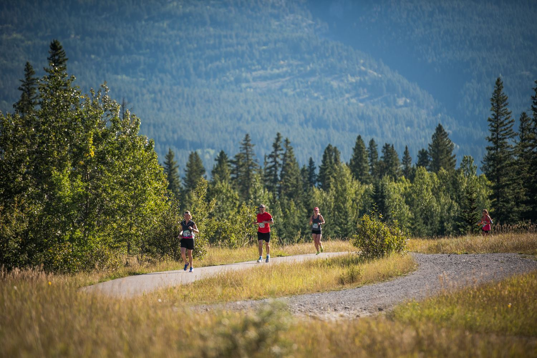 canmore rocky mountain half marathon