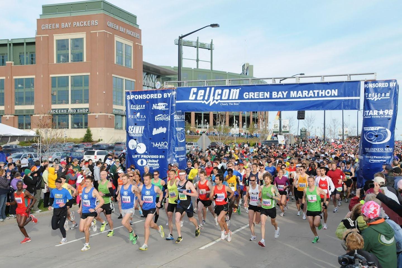 Alles over de Cellcom Green Bay Marathon en hoe jij er aan mee kunt doen