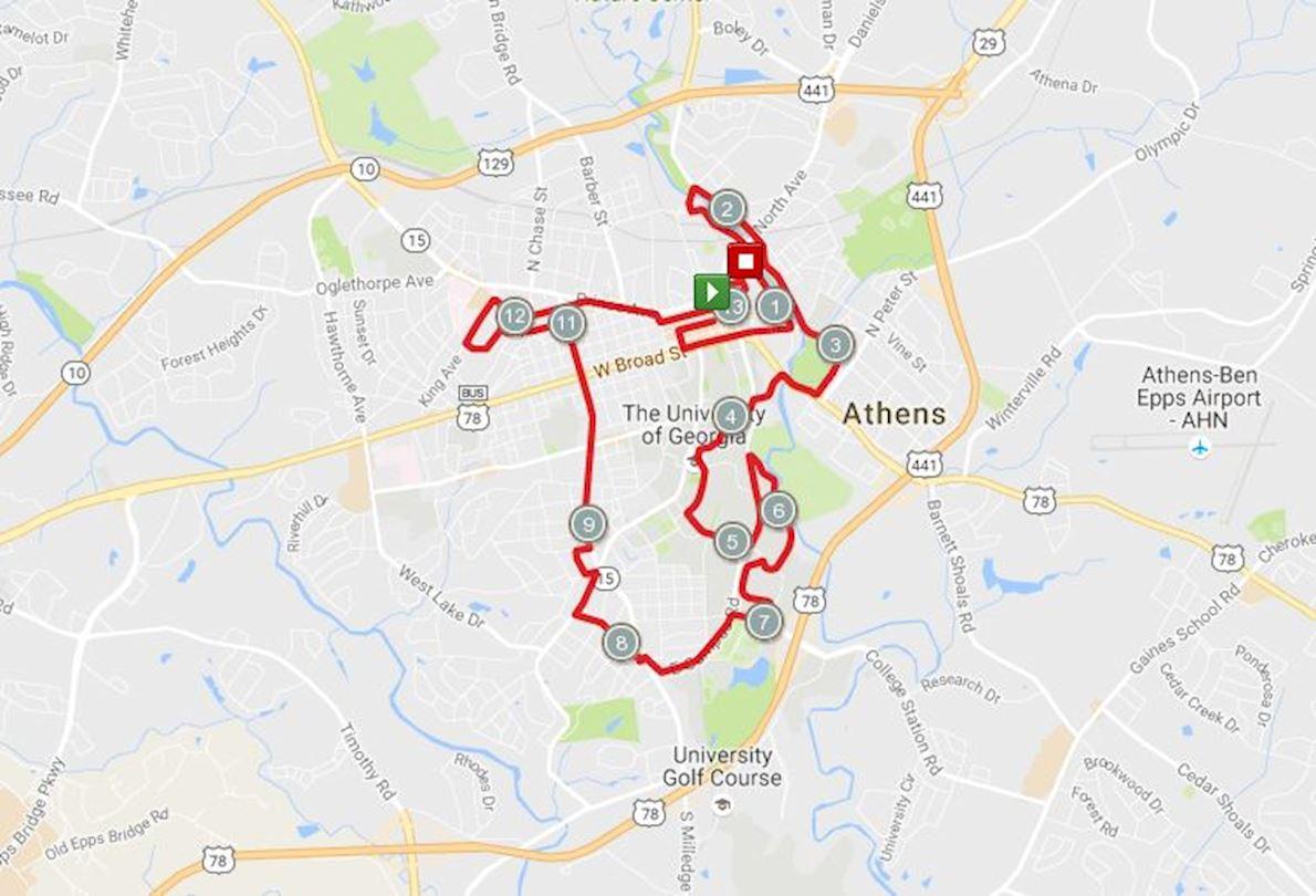 ChickFilA Connect Half Marathon Worlds Marathons