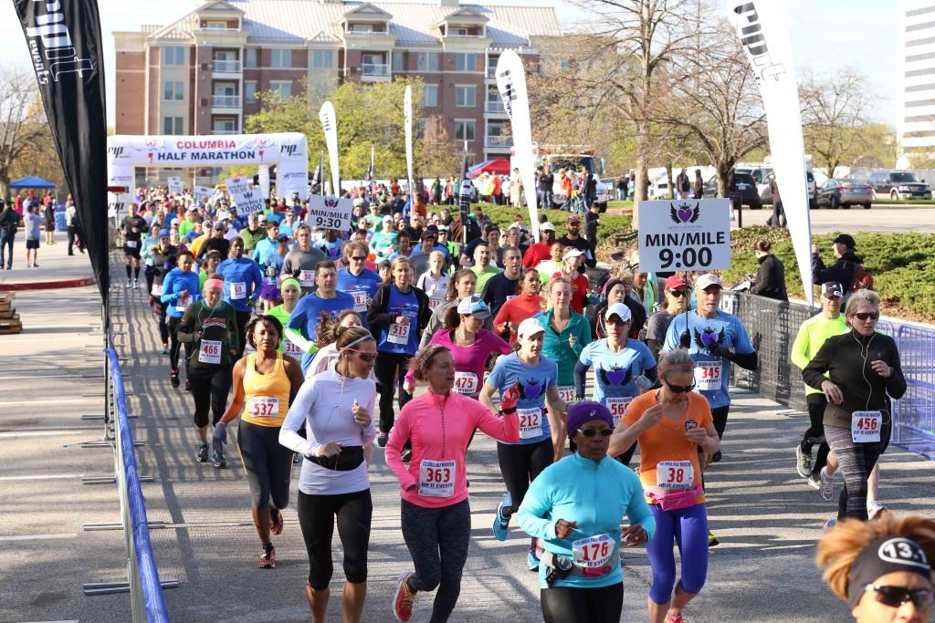 columbia half marathon