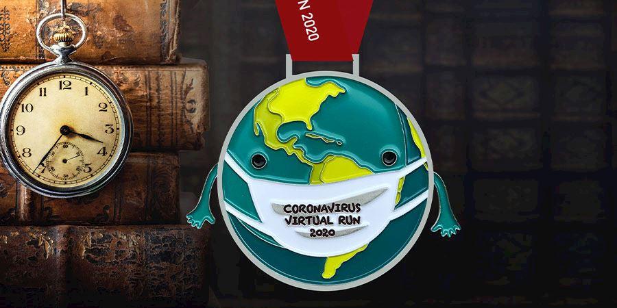 coronavirus virtual run