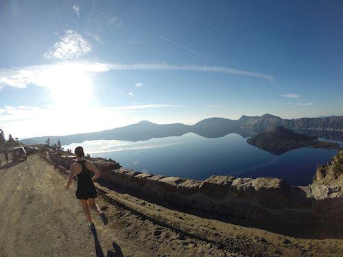 Crater Lake Rim Runs