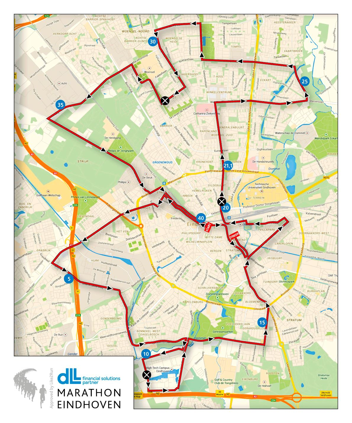 Welp Marathon Eindhoven, Oct 11 2020 | World's Marathons KV-08