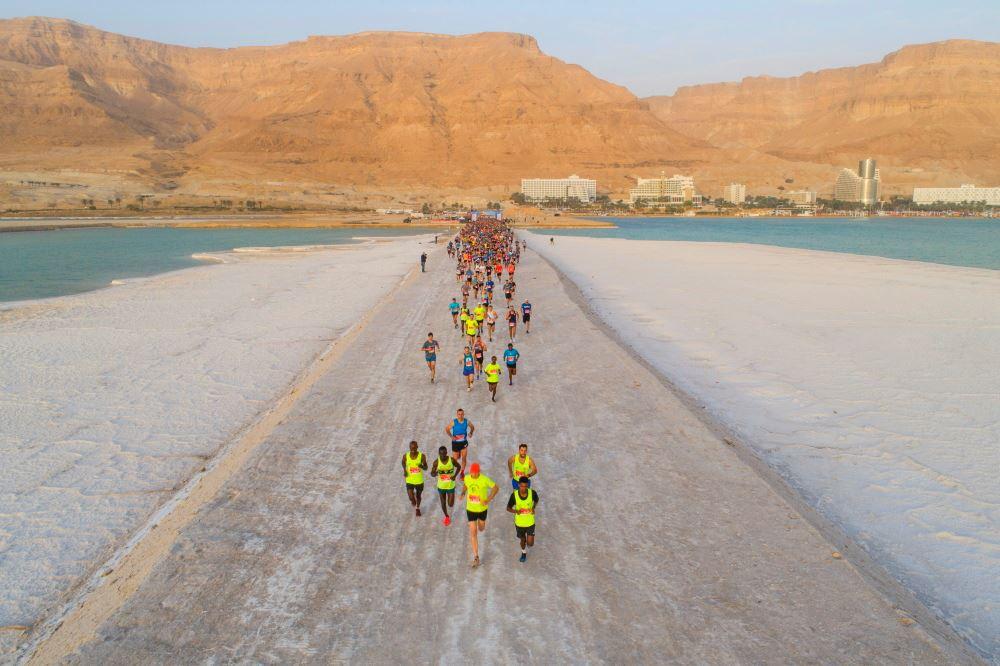 dead sea marathon israel