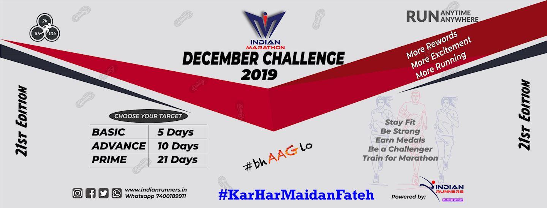 december challenge indian marathon 2019