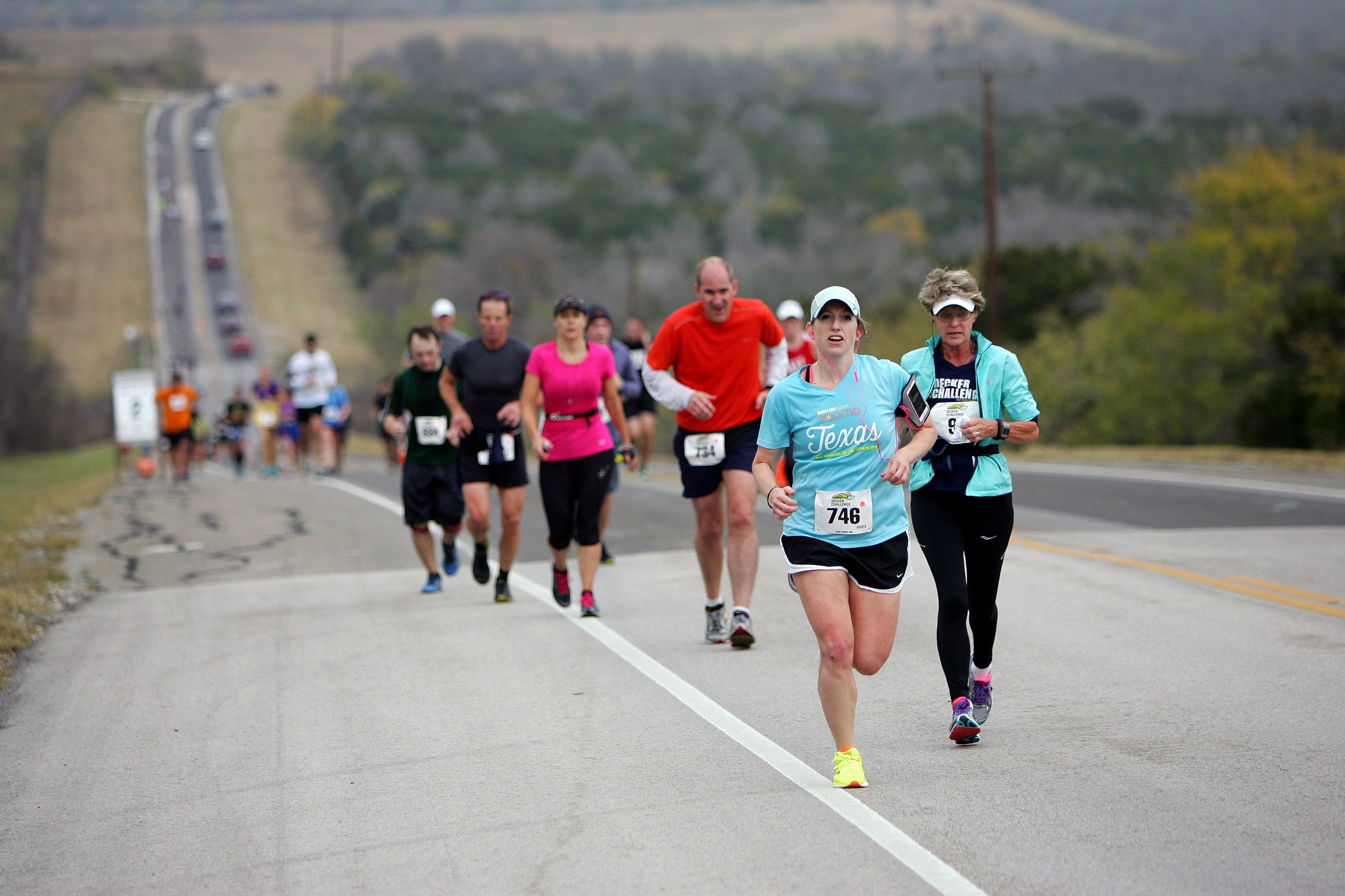 decker challenge half marathon