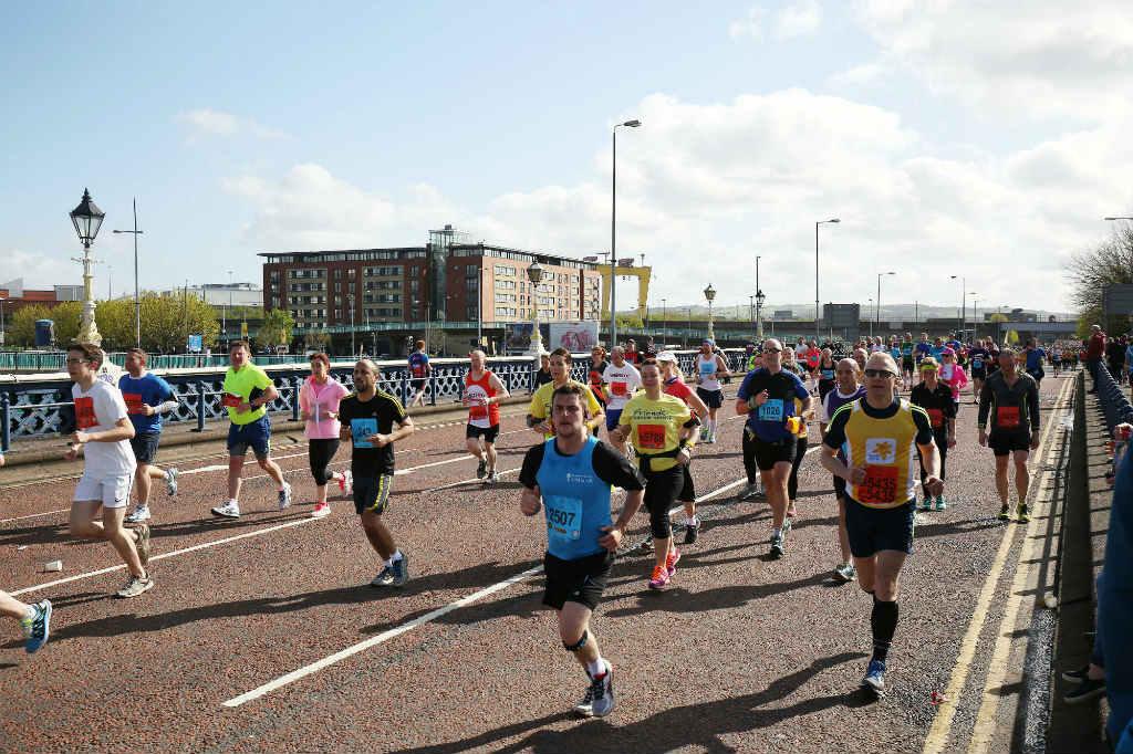 deep riverrock belfast city marathon