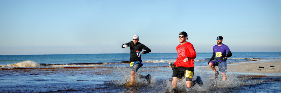 destin beach ultra runs