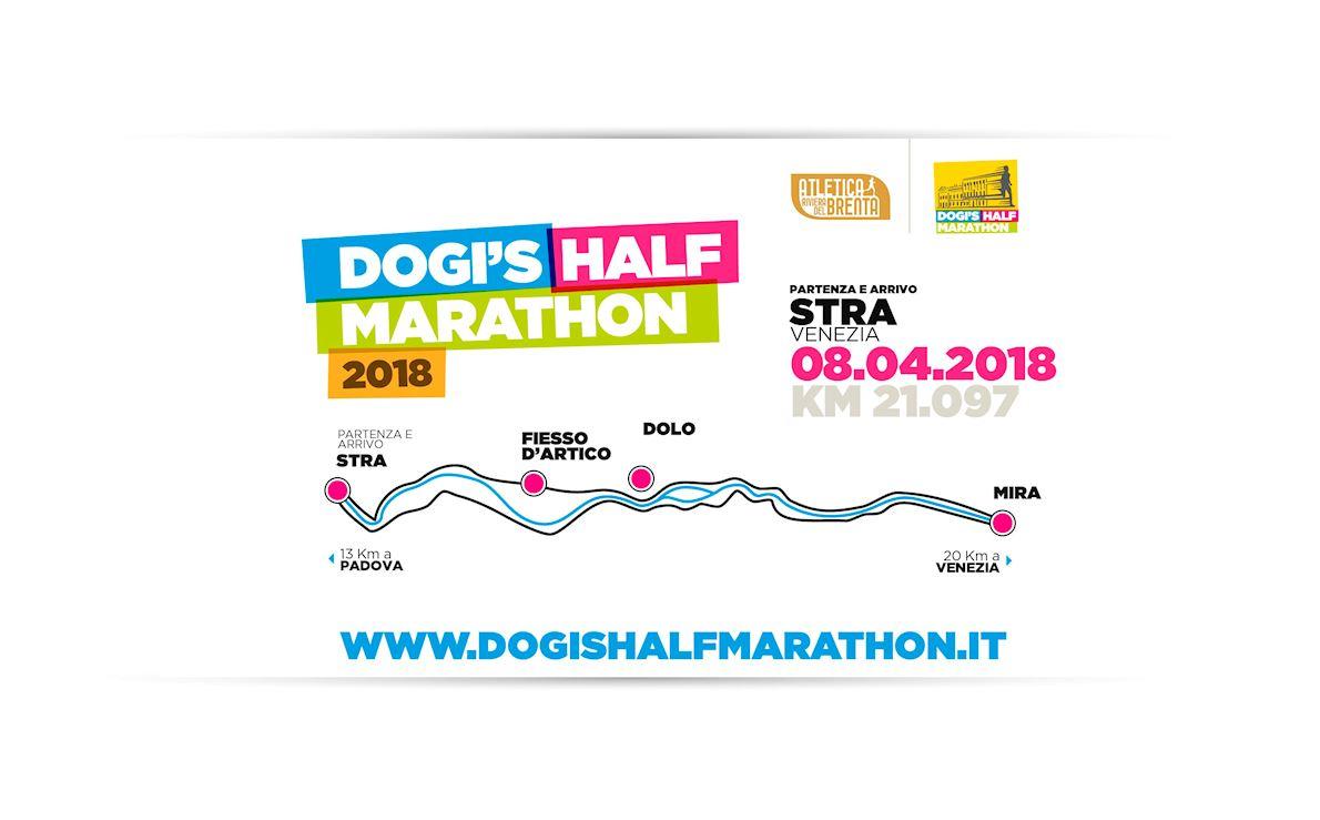 Dogi's Half Marathon Route Map