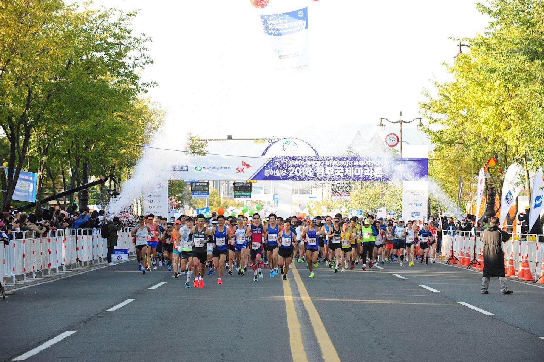 Alles over de Dong A Ilbo Gyengju International Marathon en hoe jij er aan mee kunt doen