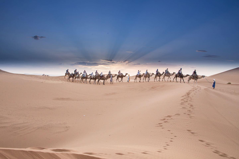 dune marathon run in the desert